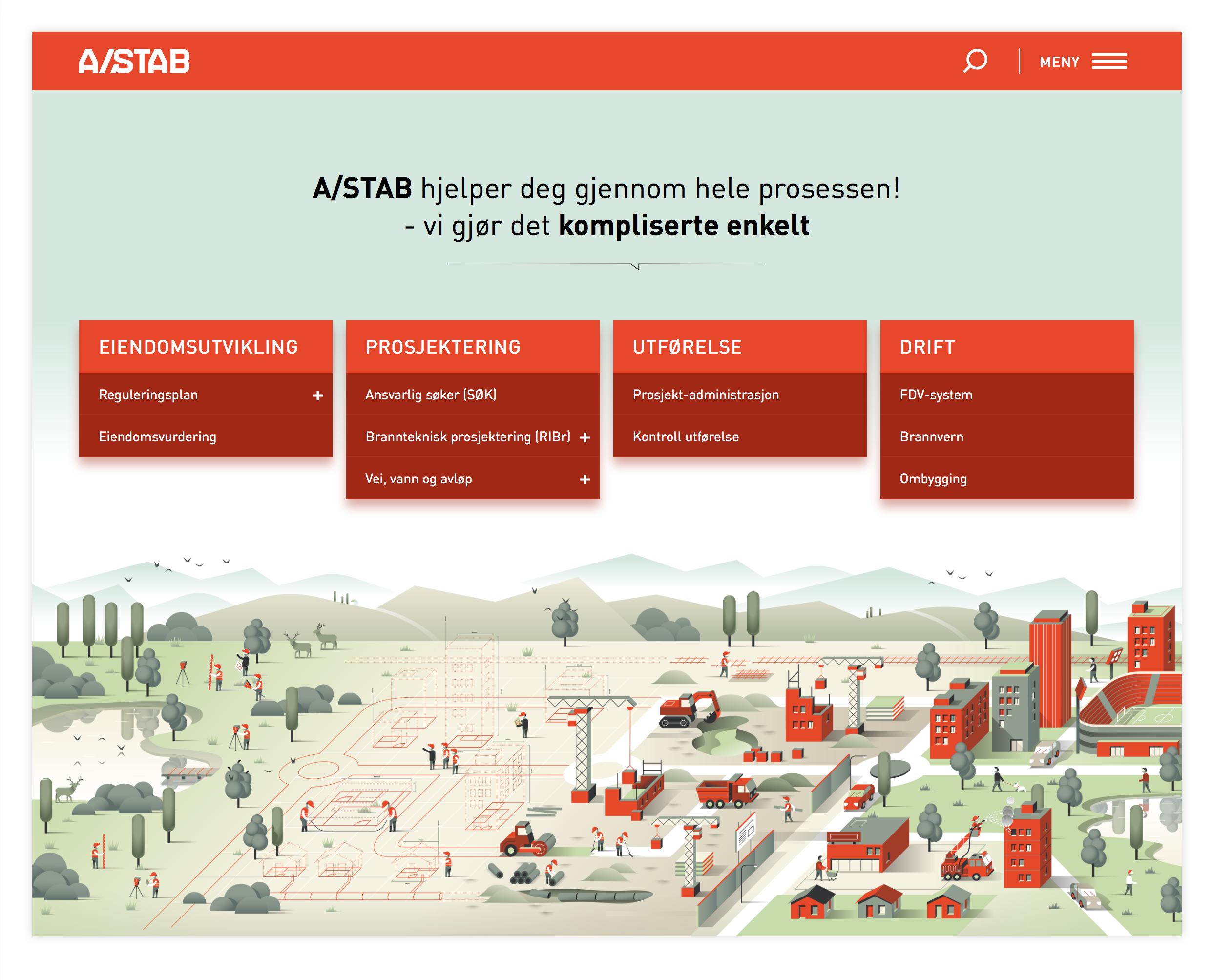 A/STAB - nettsider