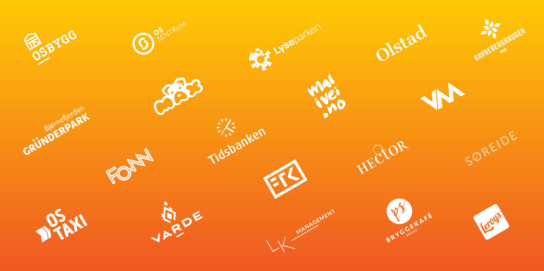 Logoer vi har laget