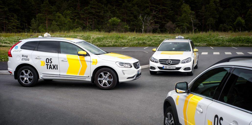 Os taxi - Bildekor