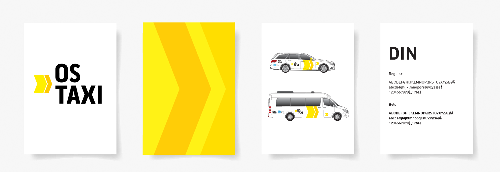 Os taxi - Identitetsdesign